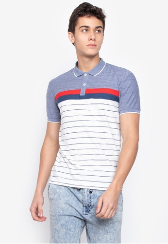 0a7cb54175d6 Shop Blued Mens Striped Polo Shirt Online on ZALORA Philippines