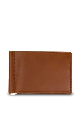 Starke Leather Co brown STARKE's Moneyclip Wallet Brisk Buck Brown 30FACACA7D083EGS_1