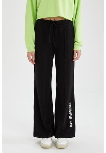 DeFacto black Relax Fit Sweatpants F88F6AA73C71B3GS_1