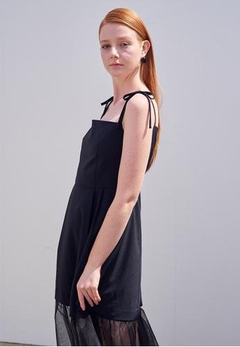 TAV [Korean Designer Brand] Pedder Dress - Black 86DF5AAEC7F6E0GS_1