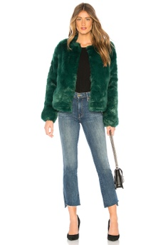 17f0f087d7b7 58% OFF Lovers + Friends NYC Faux Fur Jacket(Revolve) S$ 355.00 NOW S$  150.00 Sizes XXS M