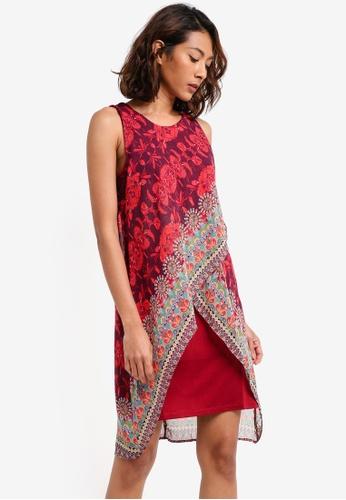 Desigual red Iris Dress B8CECAA6919E26GS_1