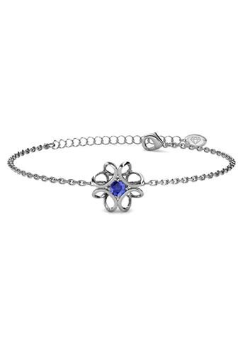 Her Jewellery silver Daffodil Bracelet WG September - Gelang Crystal Swarovski by Her Jewellery 5104FAC514B355GS_1