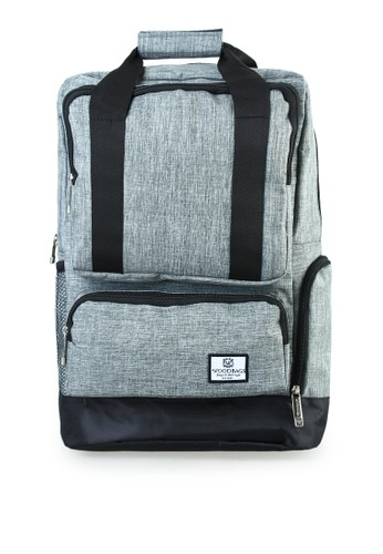 Woodbags grey Woodbags Backpack Animo Grey - Water Proof FE36FACC680111GS_1