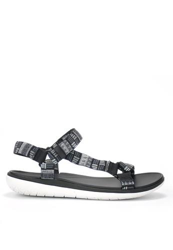 Twenty Eight Shoes 黑色 輕巧EVA防水涼鞋 460E0SHA06ECA3GS_1