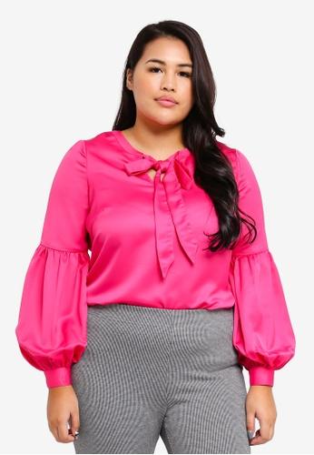 Junarose pink Plus Size Zofias Blouse A45DAAADCC61E6GS_1