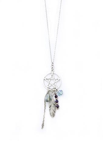 Shop Trinkets For Keeps Dream Catcher Necklace Online On ZALORA New Dream Catcher Necklace Philippines