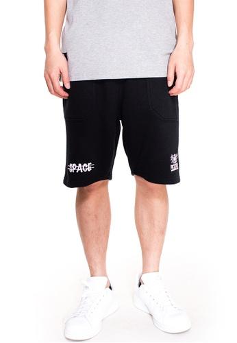 Reoparudo black RPD Cross Space Edition Shorts (Black) RE413AA0GDMBSG_1