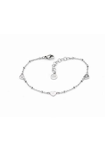 Morellato silver Insieme Bracelet SAHM13 Stainless Steel Crystals 9C113AC8A2341EGS_1