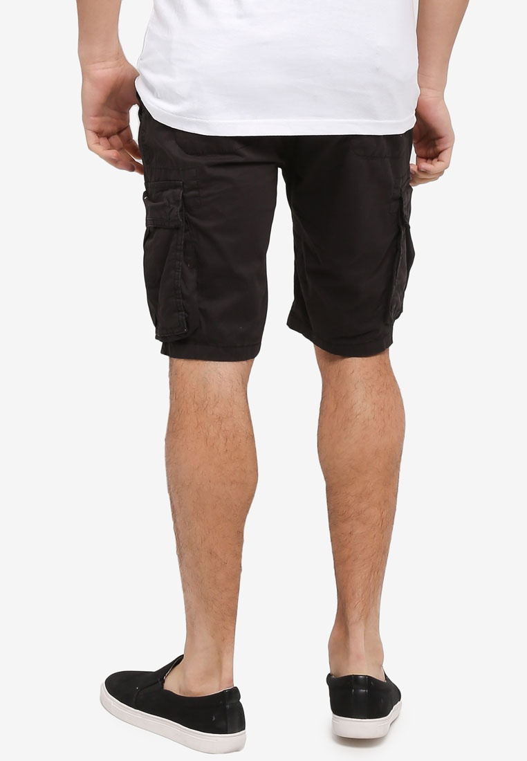 Almost Utility Factorie Black Shorts Capt wtvpq