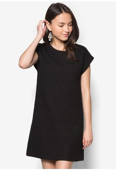Dropped Shoulder Shift Dress