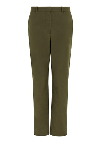 MARKS & SPENCER green Cotton Straight Leg Chino C40B3AADAB680AGS_1