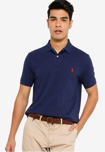 Polo Ralph Lauren navy Short Sleeve Knit Polo Shirt 07FE1AA8A2A8A5GS_1