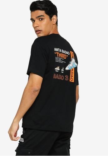 Anta 黑色 Basic 短袖T恤 9AB5BAA95B378AGS_1