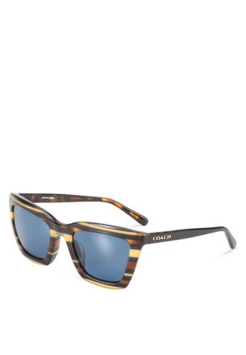 f790397bea69 Buy Coach Poppy Core HC8203F Sunglasses Online | ZALORA Malaysia