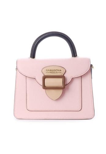 Samantha Thavasa pink and beige Samantha Vega Twigs Bag (S) 41586AC0C015F9GS_1