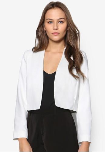 Peesprit服飾tite Giglio 短版長袖外套, 服飾, 服飾