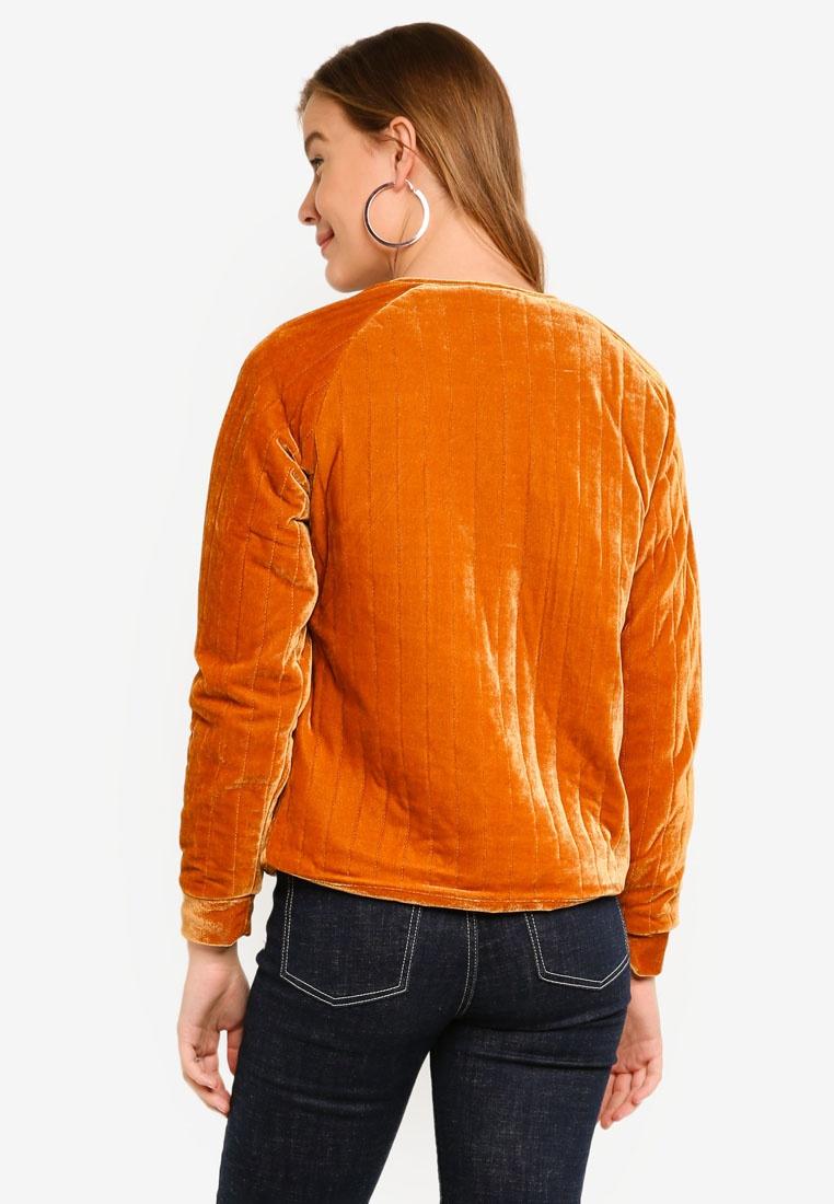 ICHI Globe Jacket Globe Brown ICHI Leather Jacket dTaUTwx