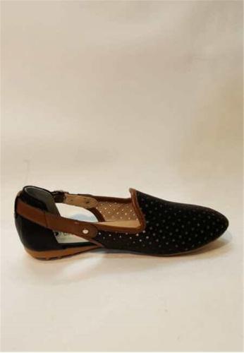 Crystal Korea Fashion black Korean-made Summer Comfortable Breathable Flat Shoes 50CF5SH763CBB8GS_1