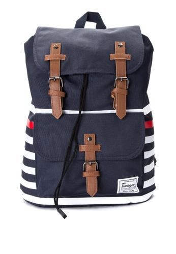 Transgear navy Backpack 339-TGBP TR281AC0IQP0PH_1