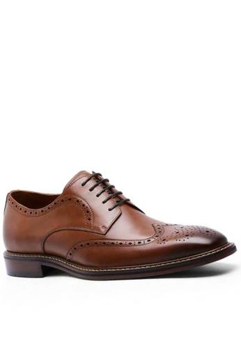 Twenty Eight Shoes 復古翼紋雕花德比鞋DS6737 EFB87SHCF3357AGS_1