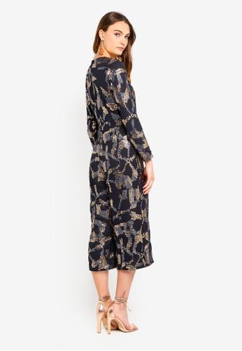 5d39f72b33e Buy Miss Selfridge Sequin Culottes Jumpsuit Online on ZALORA Singapore
