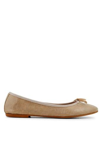 Minelli brown F61 810/IMP Classic Leather Ballet Flats - Gary MI352SH73YLESG_1