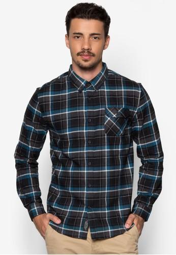 格紋長袖襯衫, 服飾esprit outlet 台中, 格紋襯衫
