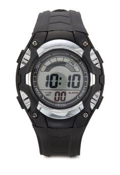 Jean Claude Unisex Sporty Digital Watch
