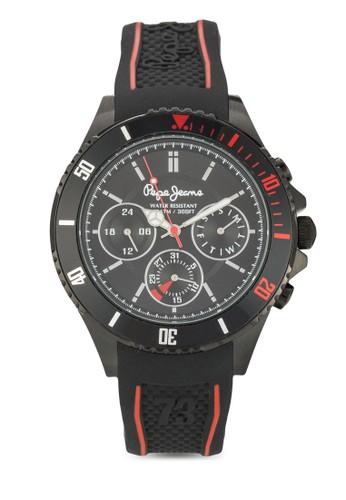 R2351106002 Brian 計時矽膠男士圓錶, 錶類, 飾品配esprit 京站件