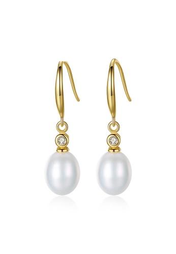 A.Excellence white Premium White Pearl Elegant Earring 36EAFAC0CA78A3GS_1