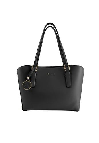 CO BLANC black Medium Tote Bag EFB93AC65847D4GS_1