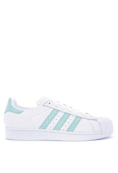 Adidas white adidas originals superstar w AD678SH0KSVSPH_1