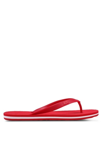 Under Armour red UA M Atlanticdune T Flip Flops 54205SHC077C5BGS_1