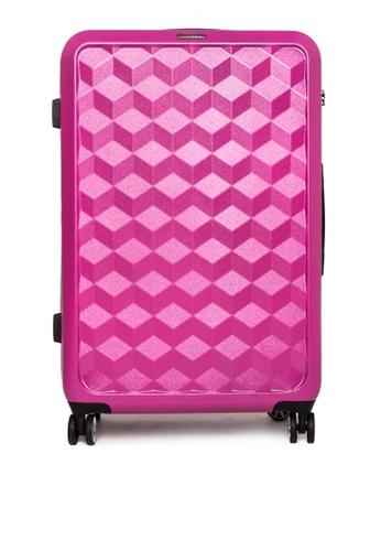 World Traveller pink Wallstreet Travel Bag WO744AC0K4CDPH_1