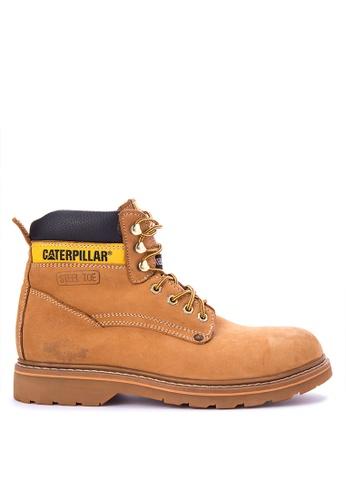 Caterpillar brown SHEFF-01 Boots CA367SH0IS6IPH_1