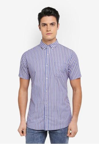 Cotton On blue and multi Vintage Prep Short Sleeve Shirt D7CA5AA6D19D68GS_1