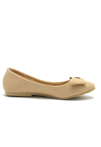 My Ballerine beige My Ballerine - Meena comfort ballerina  (Beige) MY363SH60LJZMY_1