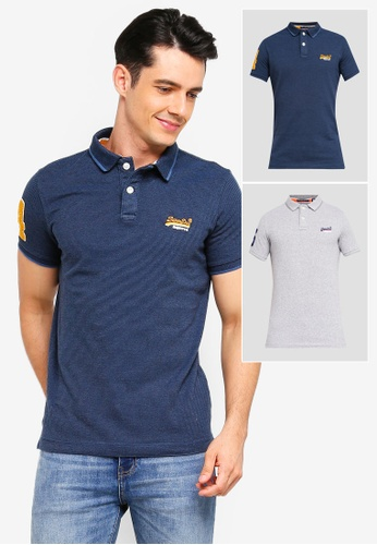 Shop Superdry Classic Short Sleeve Pique Polo Shirt Online on ZALORA  Philippines ee9e3d470