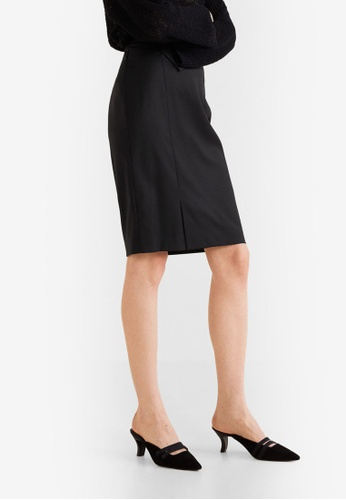 Mango black Pencil Skirt A5F21AA4868DA1GS 1 837da6b7c