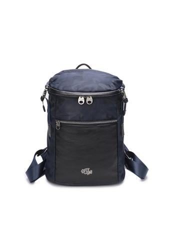 DUSTY blue Bucket backpack 30B2FAC6FD0328GS_1