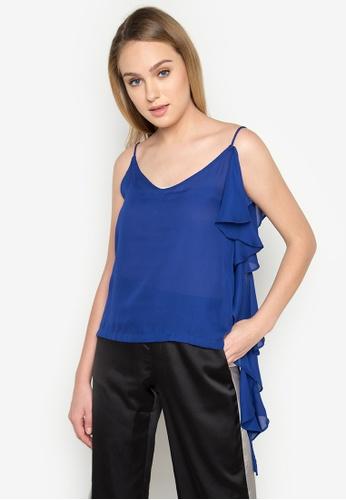 Madelaine Ongpauco Barlao blue Trisha Top MA508AA71UGEPH_1