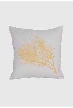 Dried Twig Print A Throw Pillow Case