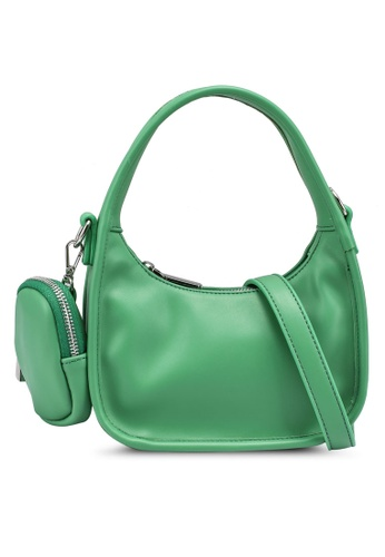nose green Sporty Hand Bag A40ACACC3D57F8GS_1