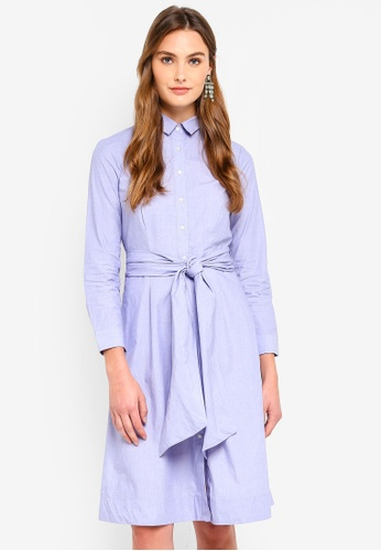 J.Crew blue Sybil Shirt Dress 173F7AA8E0403BGS_1