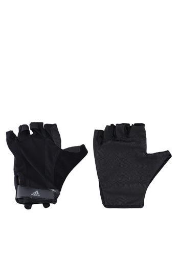 adidas black adidas vers cl gloves 76E38ACB5283A8GS_1