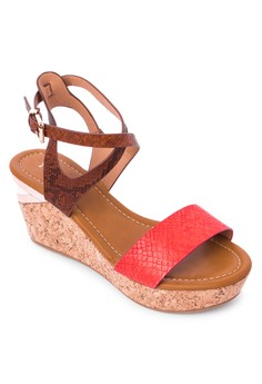 Shannon Wedge Sandals