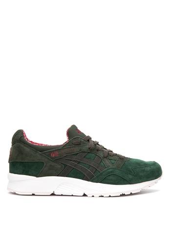 ASICSTIGER green GEL Lyte V Sneakers AS118SH87UGUPH_1