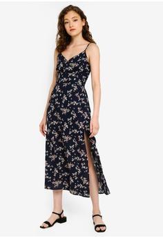 d42a4dc9e0 31% OFF Abercrombie & Fitch Wrap Cami Slit Maxi Dress S$ 144.00 NOW S$  98.90 Sizes XS S M L