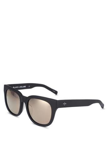 BLANC & ECLARE black Seoul Sunglasses B75BDGL9AF100DGS_1